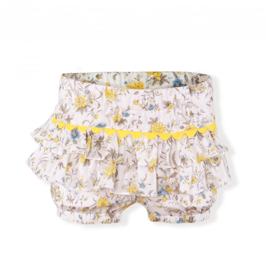 4a471d32a Conjunto camiseta y pantalón corto infantil niña 0272 MIRANDA