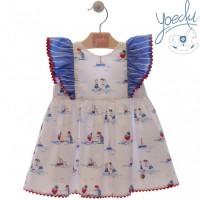 Vestido infantil Jazmín 0516 YOEDU