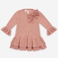 vestido punto rosa palo PAZ RODRIGUEZ 30106
