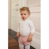 Camisa manga larga y pantalón corto 2101 DOLCE PETIT
