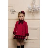 vestido rojo DOLCE PETIT 2245/V