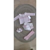 Conjunto ranita y jersey rosa 30071 martin aranda