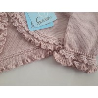 Rebeca hilo algodon rosa palo GRANLEI 473