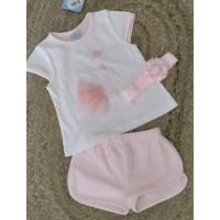 conjunto algodon rosa SARDON cisne co 520
